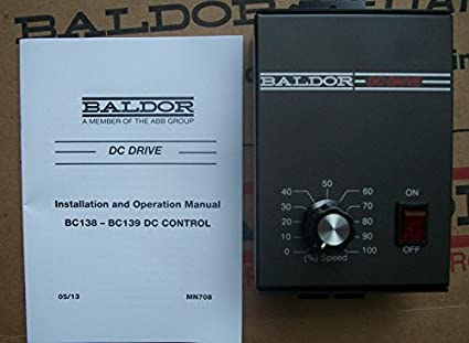 Baldor electric dc drives. Nationwide stock. Call state motor.