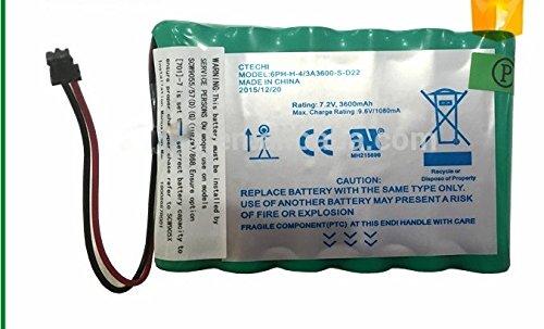 Brand New DSC IMPASSA 9057 Battery 6PH-H-4/3A3600-S-D22 7.2 V 3600mAh, 2015