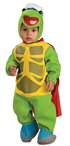Wonder Pets Bunting And Headpiece Costume Turtle Tuck, Tuck Print, 6-12 Months ()