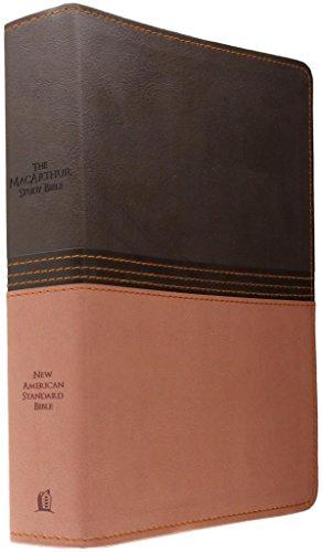 John Leather (NASB, The MacArthur Study Bible, Imitation Leather, Brown/Orange (Signature))
