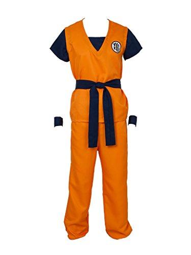 CosFantasy Unisex Cosplay Son Goku Turtle SenRu Costume mp002565 (Men XL(Bust: 127cm)) -
