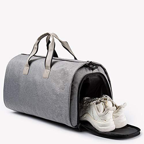 Semana Traje Viaje Fin Bolsa ayng Ropa Hombro Vuelo Gray De Zapatos Cubierta Wy Con Traje Y Desmontable black wqSznX4x