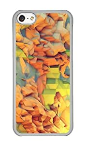 Apple Iphone 5C Case,WENJORS Personalized Vacation Island Hard Case Protective Shell Cell Phone Cover For Apple Iphone 5C - PC Transparent