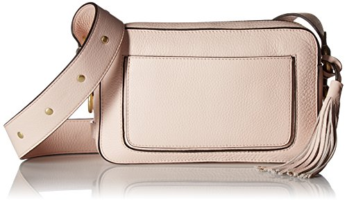 Cole Haan Cassidy Camera Crossbody Shoulder Bag, Peach Blush Cole Haan Handbag Purse