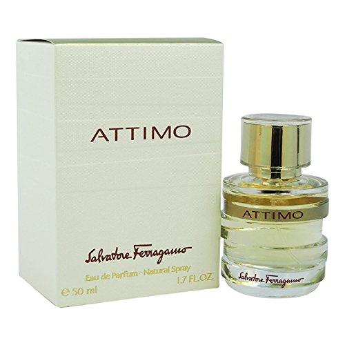 Salvatore Ferragamo Attimo Eau de Parfum Spray for Women, 1.7 Ounce