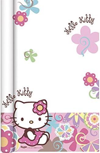 Hello Kitty 6KTY066 Nappe Bambou Rose 700 x 120 cm