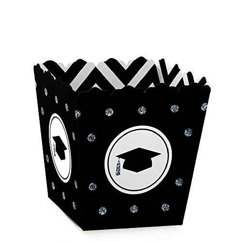 Silver Tassel Worth The Hassle - Graduation Candy Boxes Party Favors (Set of 12)