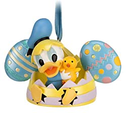 Disney Parks Donald Duck Easter Egg Mickey Mouse Ears Hat Ornament NEW RELEASE