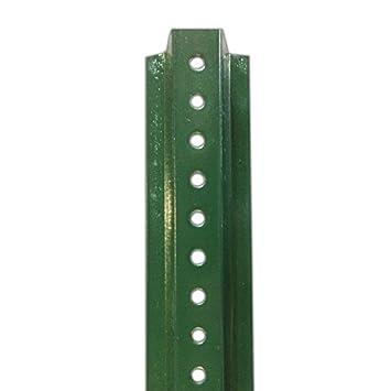 8 Foot Long Green 2 Lb U Channel Sign Post