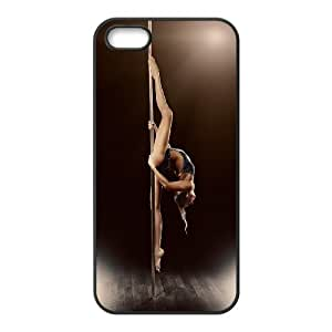 JenneySt Phone CasePole Fitness Dancing Pattern For Apple Iphone 5 5S Cases -CASE-17