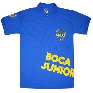 Argentina Boca Juniors CABJ Polo, Unisex: Amazon.es: Deportes y ...