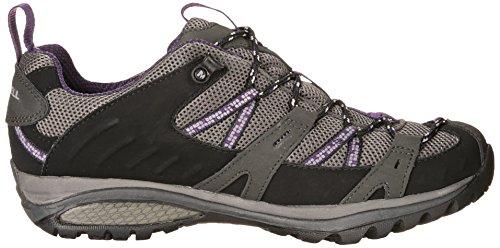 Merrell SIREN SPORT GTX J544892 - Zapatillas de senderismo para mujer BLK/PERFECT PLUM