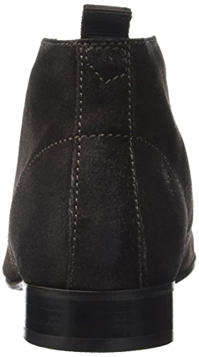 Base London Herren Trader Kurzschaft Stiefel Marron (Brown Greasy Suede)
