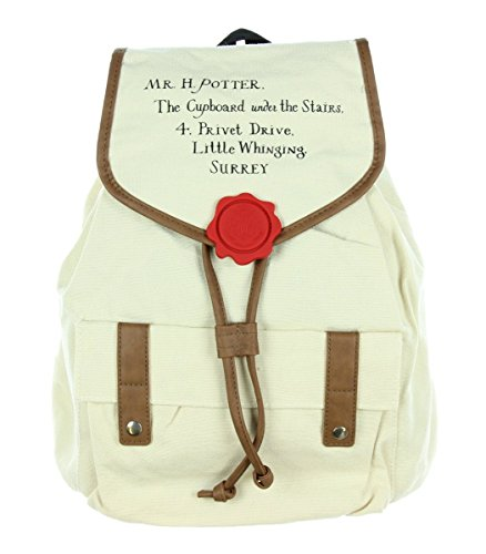 Harry Potter Hogwarts Letter Slouch Backpack
