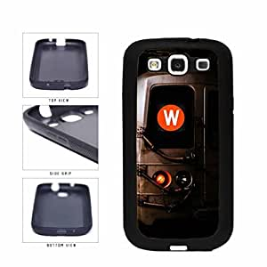 Personalized NYC Train Custom Letter W TPU RUBBER SILICONE Phone Case Back Cover Samsung Galaxy S3 I9300