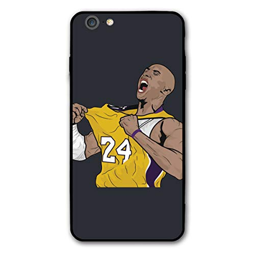 Favorite Basketball Player IPhone6/6s Plus Case KOB-e Bryant Black-Mamba Phone Case Cover Suitable for iPhone 6/6s Plus