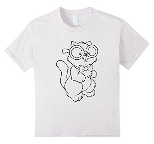kids-coloring-book-t-shirts-cute-kitten-tee-8-white