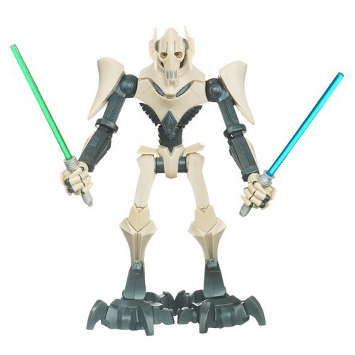 (Star Wars The Clone Wars Force Battlers General Grievous Figure by Hasbro)