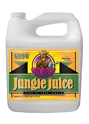 Advanced Nutrients Jungle Juice Grow Fertilizer, 4-Liter Advanced Gh Enhancers
