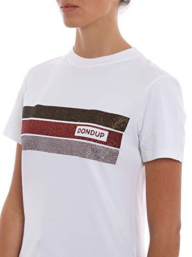 Algodon S746js0205ci94md000 shirt Blanco Dondup Mujer T 46qwBC6tx
