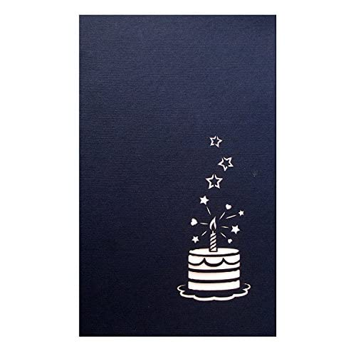 Paperkraft Birthday Cake Pop Up Greeting Card