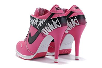 15a593737b6d Pink  Nike Dunk High Heels Do The Dew Size 38  Amazon.co.uk  Shoes ...