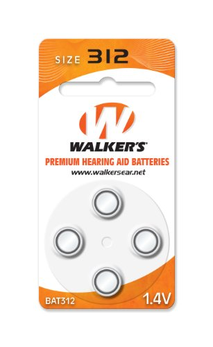 Pack Air Cell Batteries (Fits all  Digital Gamer Ear ITC) (Walker Hearing Aid)