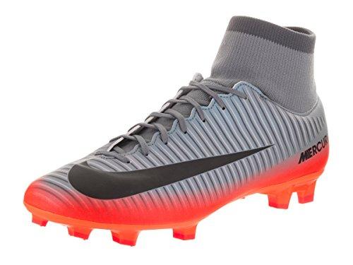 Nike Mercurial Victory VI Cr7 DF FG, Scarpe da Calcio Uomo Grigio (Cool Grey/Mtlc Hematite-wolf Grey-total)