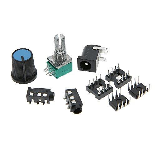 KKmoon 47 Amp DIY NE5532 Hi-Fi Auricular Amplificador Equipo con Transparente Alojamiento DC9V-18V: Amazon.es: Bricolaje y herramientas
