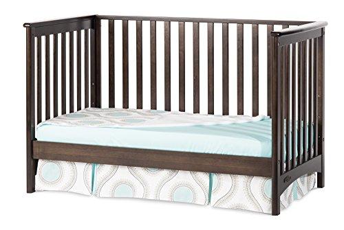 Child Craft London Euro 3-In-1 Traditional Crib, Slate