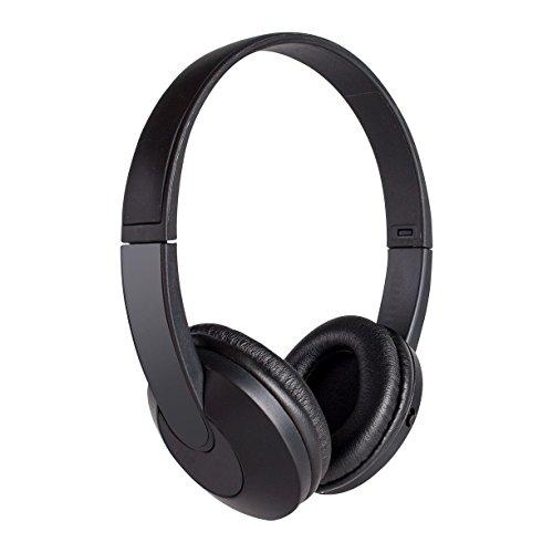 Vivitar V12119-N-BLK-OD Bluetooth Headphone, Black