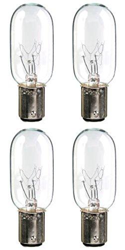 Double Contact Ba15d Base (25 Watt 120 Volt Light Bulbs with 15mm double-contact bayonet (BA15d) base, T8 shape (1