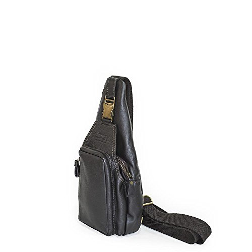 Borsello Monospalla Sling Bag | Avirex Tigerfly | AVXTGF303-Brown