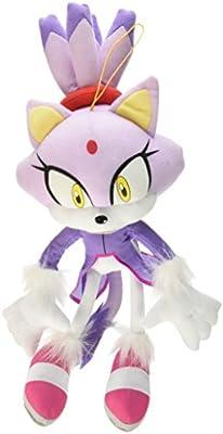 Great Eastern Ge 52636 Sonic The Hedgehog 14 Blaze The Cat Stuffed Plush Amazon Sg Toys Games