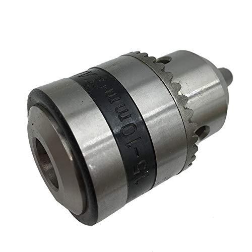 Anncus Mini Electric Drill Chuck 1.5-10mm B12 Taper Mounted Lathe Chuck PCB Drill Press for Motor Shaft Connecting Rod 5 6 8 10 12 14mm Hole Diameter: 1.5-10mm B12 10mm