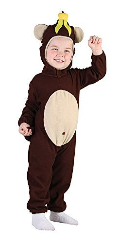 Bristol Novelty Monkey Toddler Costume Costume Age 2 -3 Years