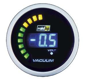 Raid HP 660508 Night Flight Digital - Reloj vacuómetro para coche, color azul