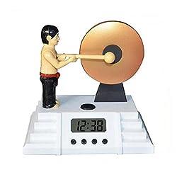 Creative Alarm Clock / Gong Alarm Clock / Student Alarm Clock / LED Clock / Lazy Alarm Clock