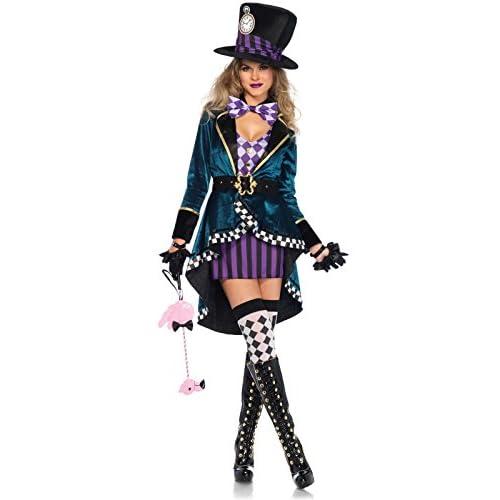 Leg Avenue Women's Sexy Mad Hatter Costume