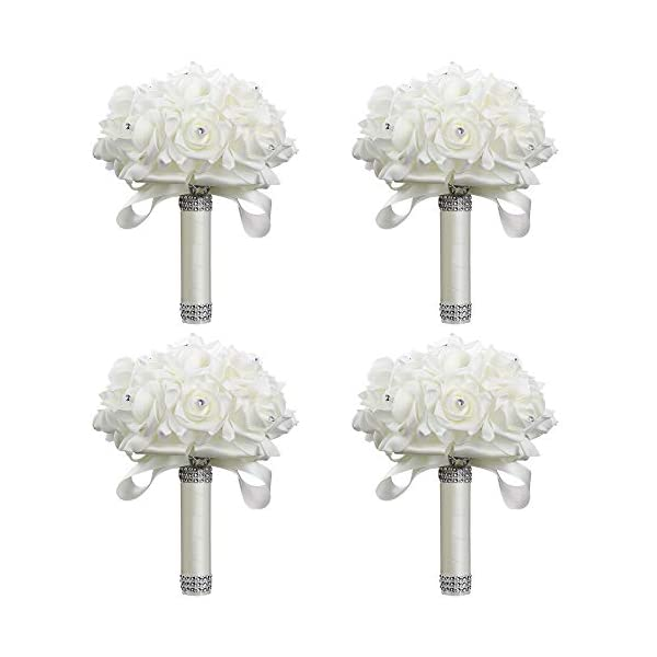 StillCool-Wedding-Bouquets-Crystal-Pearl-Silk-Roses-Bridal-Bridesmaid-Wedding-Hand-Bouquet-Artificial-Fake-Flowers