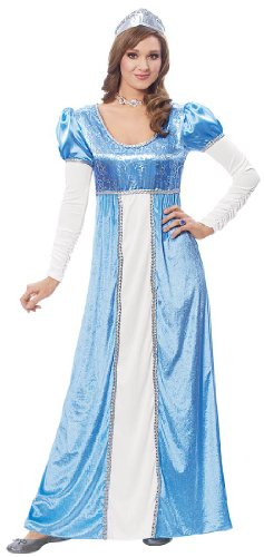 Costume Culture by Franco LLC Womens Medieval Blue Princess Halloween Costume, Small