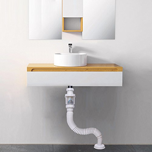 Vataler 1 1 4 Inch Expandable Flexible 17 42 Inch Universal Kitchen Sink Sewer Drain Pipe Tube S Trap Bathroom Vaniy Sink Drain Plumbing P Trap Tubing Tools Home Improvement Kitchen Sink Accessories Rayvoltbike Com