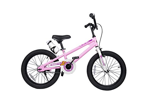 Royalbaby Freestyle Kid's Bike, 18 inch with Kickstand, Pink, Gift for Boys and Girls ()