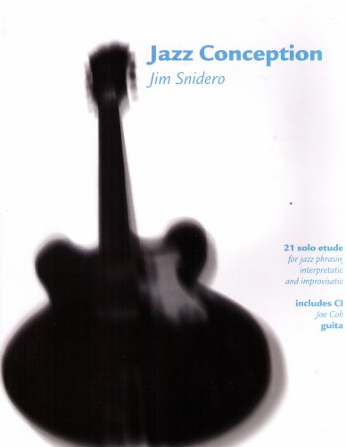 Jazz Conception: 21 Solo Etudes for the Guitar