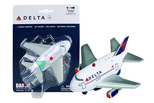 (Daron Delta Pullback Plane with Light and Sound)
