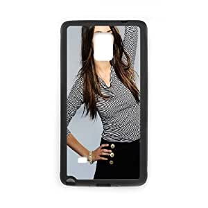 Samsung Galaxy Note 4 Cell Phone Case Black Beautiful Victoria Justice LSO7834531