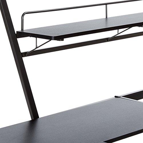 2bd33690e6c6 ACME Senon Silver and Black Loft Bed with Desk by Acme Furniture (Image #3