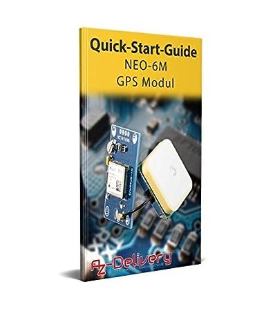 1xSIM808 AZDelivery SIM 808 GPRS//GSM Shield con Antenna GPS per Arduino ed eBook GRATIS