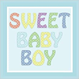 Sweet Baby Boy Baby Shower Guest Book And Gift Log Registry With