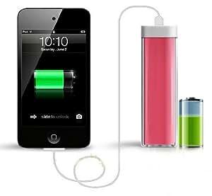 Cargador externo, bateria externa para móviles,Powerbank 2600 mAh + cable iphone